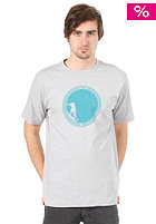 RIP CURL Late Take Off S/S T-Shirt 2012 cement marle