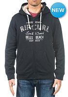 RIP CURL Live The Search Applique Hooded Zip Sweat black
