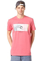 RIP CURL Mission S/S T-Shirt slate rose