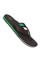 RIP CURL Oilys Sandals chocolate/green