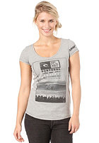 RIP CURL Peniche S/S T-Shirt cement marle