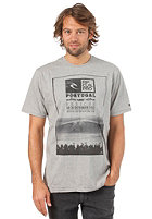 RIP CURL Portugal Poster S/S T-Shirt cement marle