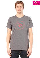 RIP CURL  Remix Icon S/S T-Shirt charcoal heather