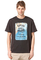 RIP CURL Resin Combie S/S T-Shirt black