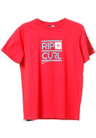 RIP CURL Rippy S/S T-Shirt poinsettia red