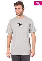 RIP CURL Small Icon S/S T-Shirt 2012 cement marle