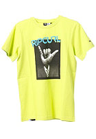 RIP CURL Smart Shaka S/S T-Shirt lime punch
