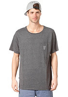 RIP CURL Solid Crew S/S T-Shirt black marled