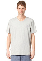 RIP CURL Solid V-Neck S/S T-Shirt cement marle