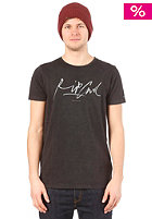 RIP CURL Spray Off Script S/S T-Shirt black