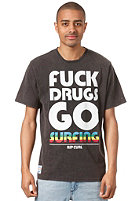 RIP CURL Stay Clean S/S T-Shirt black