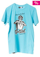 RIP CURL Suit On S/S T-Shirt scuba blue