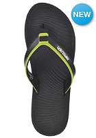 RIP CURL The Ten By Gm Sandals black/lime