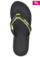 The Ten By Gm Sandals black/lime