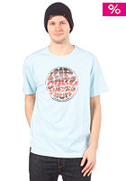 RIP CURL Wet Logo S/S T-Shirt sky blue