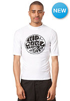 RIP CURL Wettie Logo S/SL Rashvest white