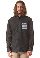 RIP CURL Winki L/S Denim Shirt black