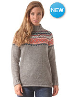 Womens Aland Knit Sweat grey marle