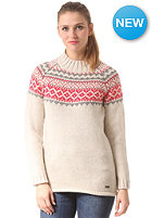 Womens Aland Knit Sweat vanilla marle
