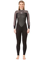 RIP CURL Womens Dawn Patrol 3/2 Wetsuit black/charcoal/