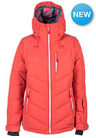 RIP CURL Womens Escape Puffer Snowboard Jacket cranberry