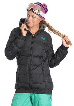 RIP CURL Womens Eskimo Puffer Jacket moonless black