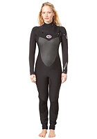 RIP CURL Womens Flash Bomb 4/3 Steamer black/black