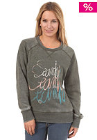 RIP CURL Womens Flower Sweatshirt forest night