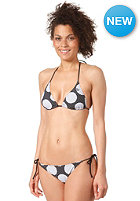 RIP CURL Womens Hot Spot Triangle Bikini Set solid black