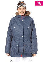 RIP CURL Womens Lay Low Parka Jacket chambray