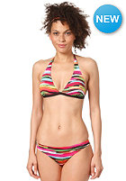 RIP CURL Womens Mirage Prism Swim Halter Bikini Set black