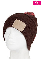 RIP CURL Womens Patch Beanie brown