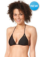 RIP CURL Womens Plain Triangle Bikini Top black