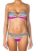 RIP CURL Womens Radiance Loop Bandeau Bikini Set navy