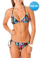 RIP CURL Womens Sandy Tri Bikini Set black