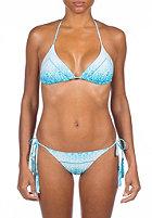 RIP CURL Womens Serpentina Tri Bikini Set teal