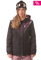 RIP CURL Womens Sorcha Engineered Snowboard Jacket jet black