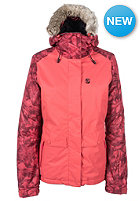 RIP CURL Womens Sorcha Oxford Snowboard Jacket cranberry