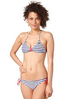 RIP CURL Womens Surf Side Stripes Fixed Triangle Bikini Top skipper blue
