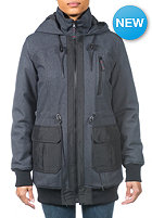 RIP CURL Womens Tampere Jacket black marled