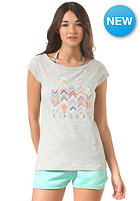 RIP CURL Womens Tribal Quest S/S T-Shirt cement marle