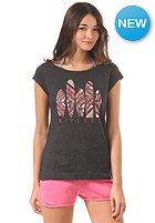 Womens Tribal Quest S/S T-Shirt jet black