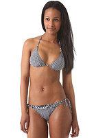 RIP CURL Womens Wax Triangle Bikini Set black