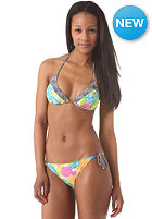 RIP CURL Womens Wild Flower Tri Top Set white