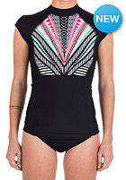 RIP CURL Womens Womirage S/S black