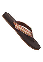 RIP CURL Womens Zumba Sandals chocolate