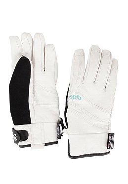ROJO Womens Leather Glove white