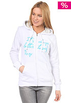ROXY Better To Surf Hooded Zip Sweat white