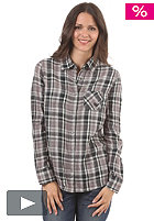 ROXY Flower Power Shirt funky plaid true black