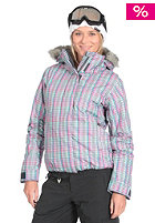 ROXY Jet Ski Jacket 2011 pride plaid aqua